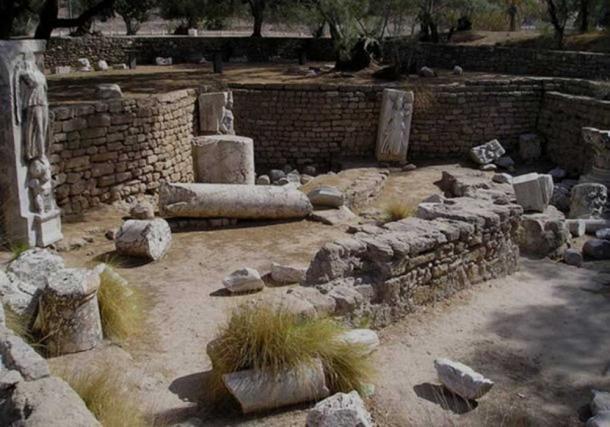Antiguas ruinas del parque nacional de Ascalón, Israel. (Wikimedia Commons)