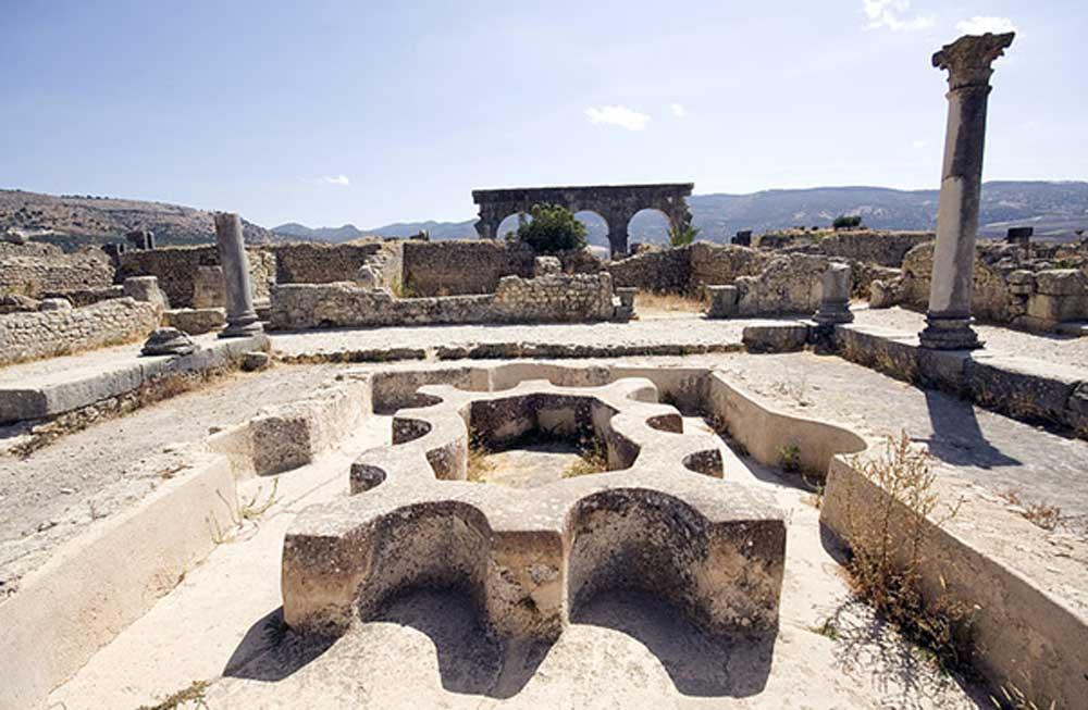 Ruinas de los Baños Norte en Volubilis. (CC BY SA 4.0)