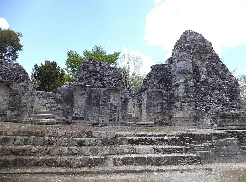 Ruinas mayas de Chicanná, México. (CC BY SA 4.0)