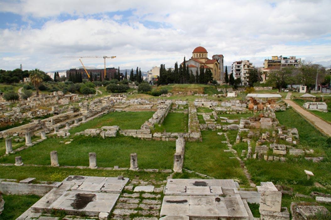 Parque arqueológico de Kerameikos, Atenas. (Public Domain)