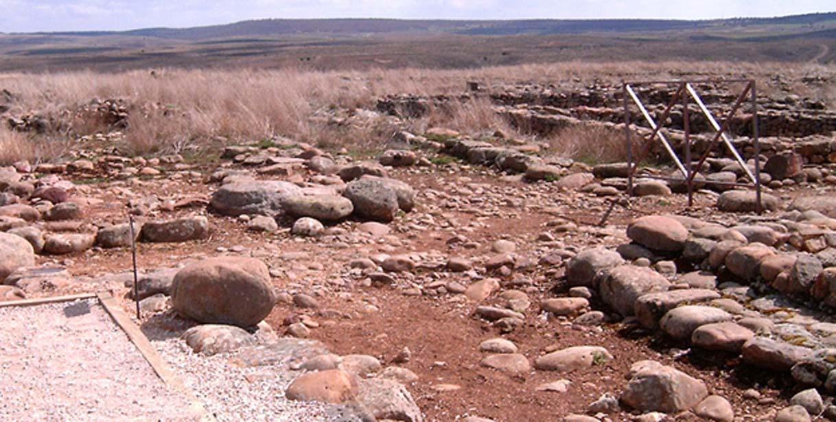 Cruce de calles en las ruinas de Numancia. (CC BY 2.5)