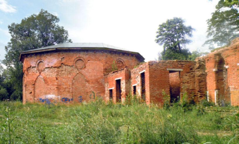 Las ruinas del Palacio de Babolovo (CC by SA 3.0)