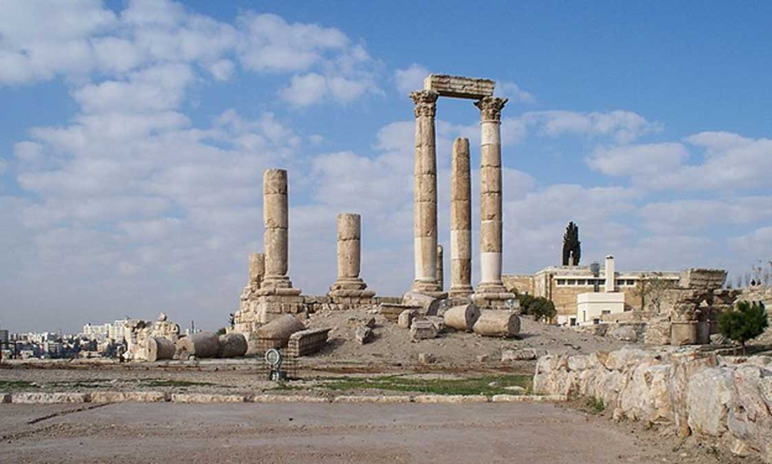 Ruinas del Templo de Hércules, Ammán (Jordania) (CC by 3.0)