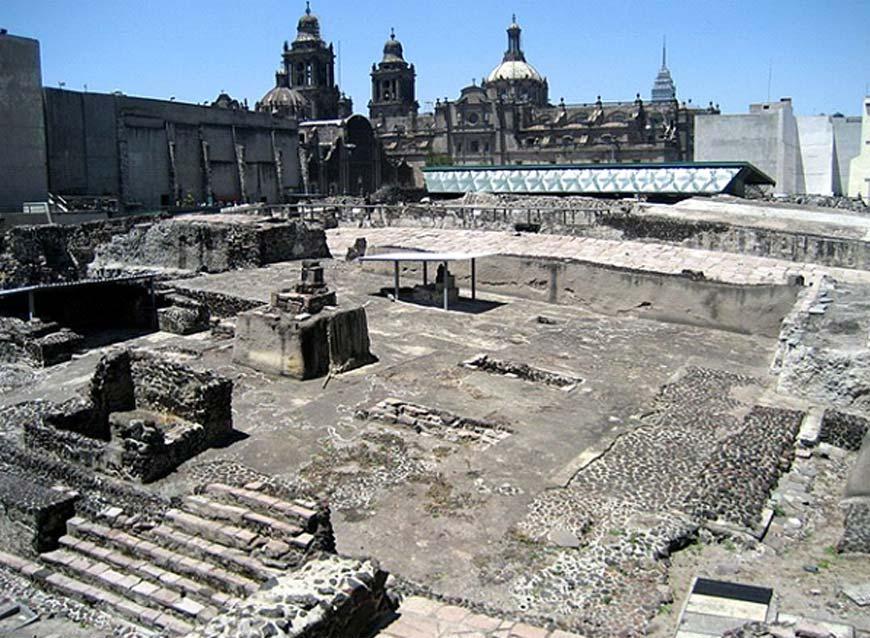 Ruinas del Templo Mayor, Ciudad de México (CC by SA 3.0)