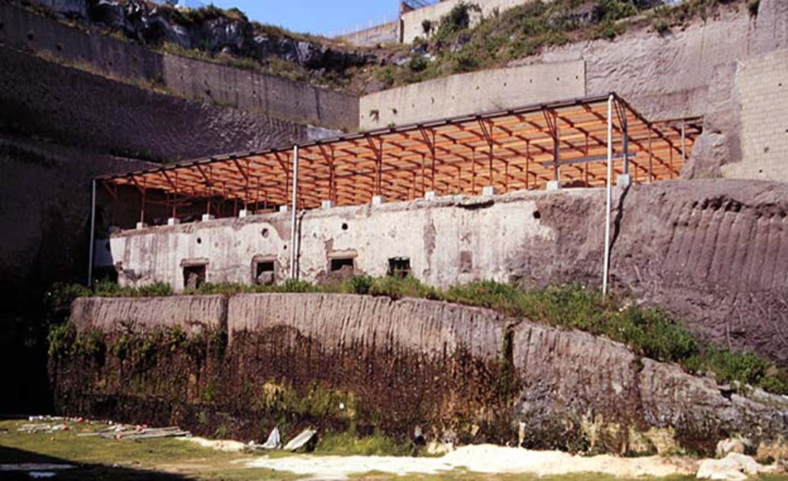 Ruinas de la Villa de los Papiros en Herculano. (Erik Anderson/CC BY SA 3.0)