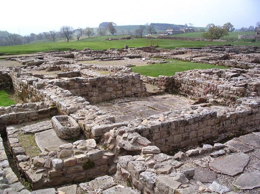 Antiguo asentamiento de Vindolanda, Northumberland (Public Domain)