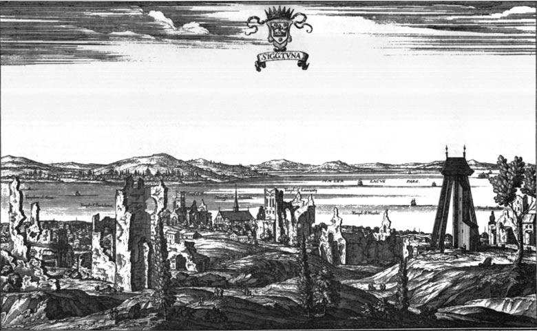 Ruinas de la antigua ciudad sueca de Sigtuna. (Dominio público)