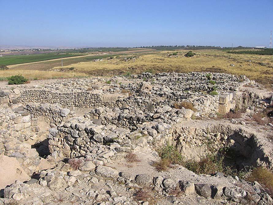 Ruinas arqueológicas de Hazor, Israel. (CC BY SA 2.0)