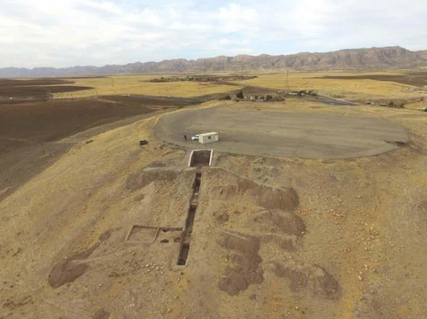 Ruinas de la ciudad regia de Mardama ubicada en Bassetki, Irak. Fotografía: Matthias Lang / Benjamin Glissmann, Universidad de Tubinga