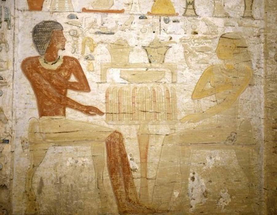 Los sacerdotes eran personajes muy importantes en la antigua sociedad egipcia. (Ministerio de Antigüedades egipcio)