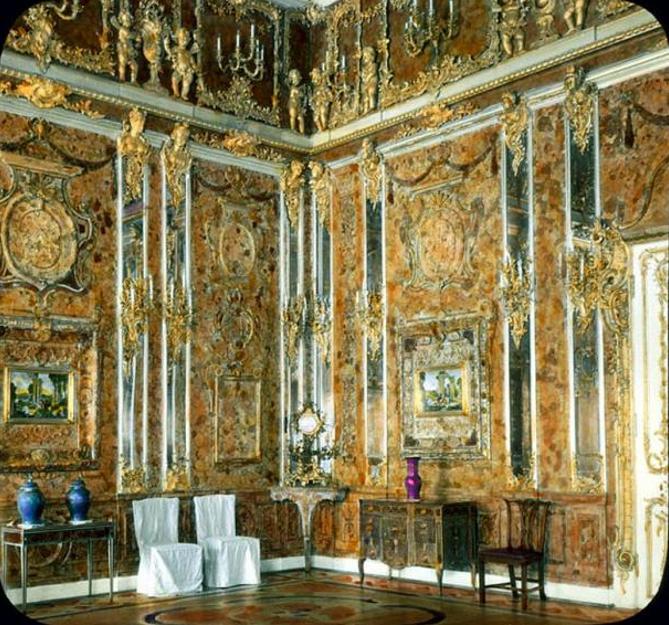 El Salón de Ámbar original en 1931 (Wikipedia)