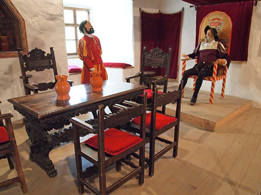 'Salón del Trono' del castillo de Predjama. (Tiia Monto/CC BY SA 3.0)