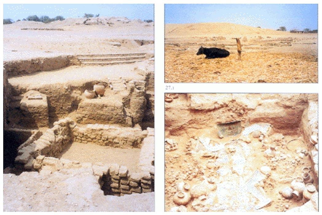 Imágenes del yacimiento arqueológico de San José de Moro. (Runapacha Tumbas de San José de Moro)