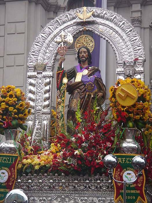 San Judas Tadeo en procesión. (CC BY-SA 3.0)