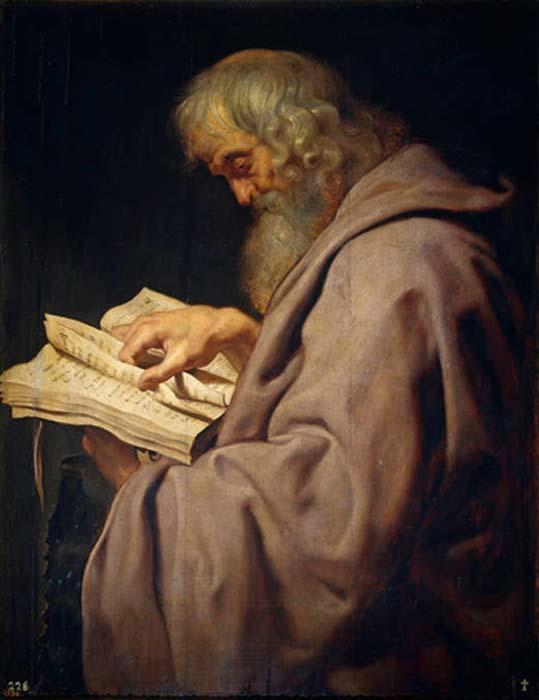 Los zelotes eran otro grupo rebelde del que formaba parte el apóstol San Simón el Zelota, representado aquí en un óleo de Peter Paul Rubens (c. 1611), de su serie de los Doce Apóstoles (Dominio público)