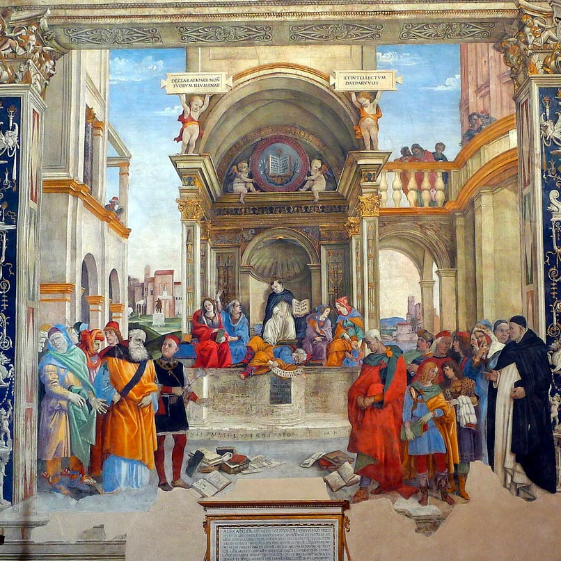 Santa Maria sopra Minerva en Roma. (Peter1936F / CC BY-SA 4.0)