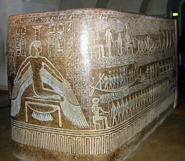 Sarcófago de Ramsés III. (Public Domain)