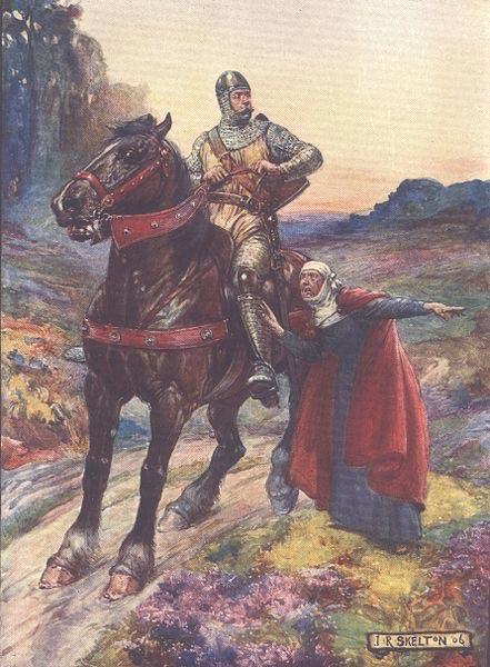 Ilustración de 1906 en la que aparece William Wallace, del libro 'Una Historia de Escocia', de Henrietta Elizabeth Marshall. (Public Domain)