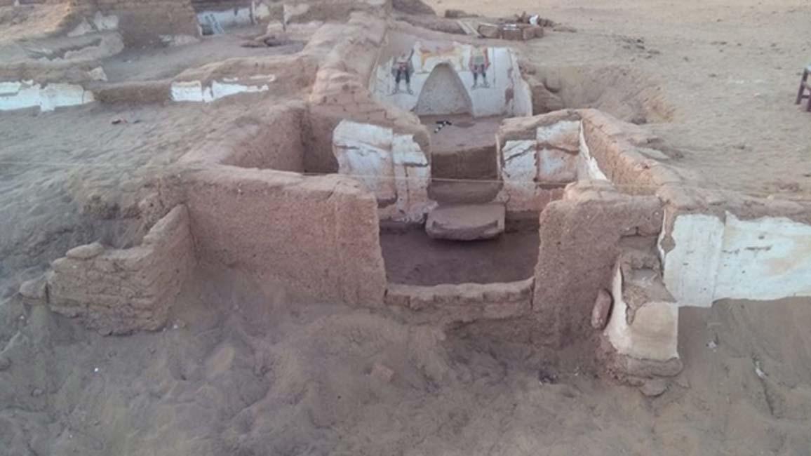 La segunda tumba se encuentra al este de la primera. (Ahram Online)