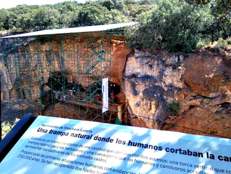 El sendero arqueo-botánico recién inaugurado suma un mayor atractivo si cabe a la visita de los yacimientos de la Sierra de Atapuerca. (Fotografía: burgosconecta.es/PCR)