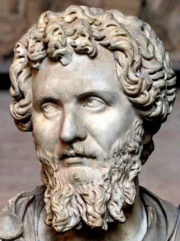 Busto de Septimio Severo (193 d. C. – 211 d. C.). (Dominio público)