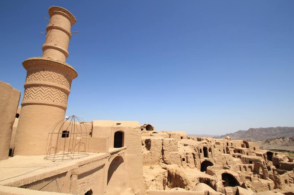 El Minarete Cimbreante de Kharanaq. (Reibai / Flickr)