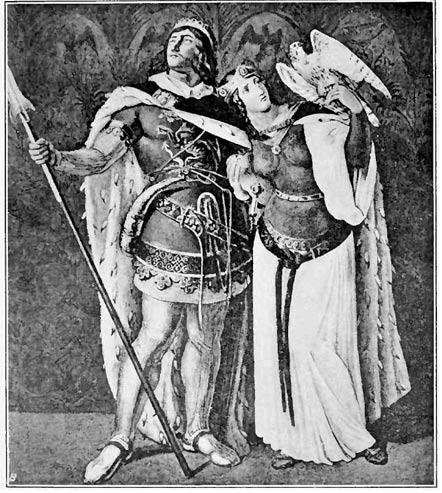 Siegfried y Kriemhild. 1914.