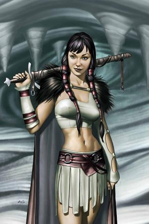 Portada de 'Thor: Hijo de Asgard 3' (junio del 2004). Ilustración de Adi Granov. (Fair Use)