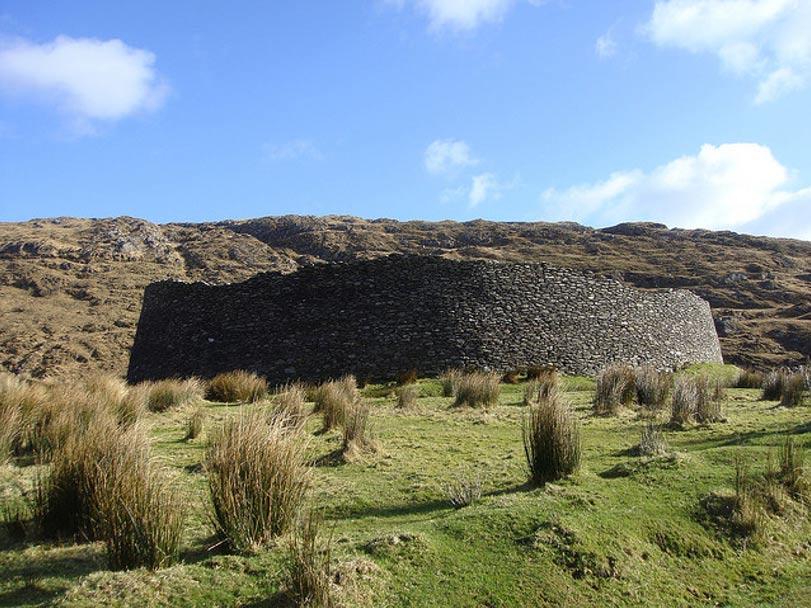 Fuerte circular de piedra de Staigue, siglos III o IV, Irlanda. (Amanderson2/CC BY 2.0)
