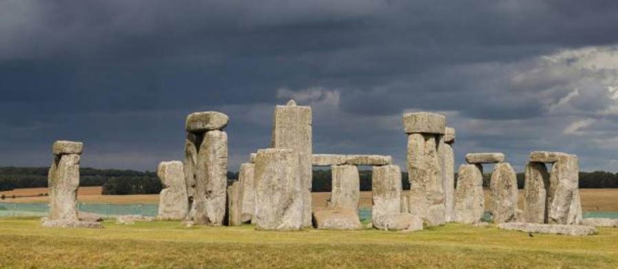 Monumento megalítico de Stonehenge, Wiltshire, Inglaterra. 2014. Fotografía: Diego Delso Wikimedia Commons, License CC-BY-SA 3.0