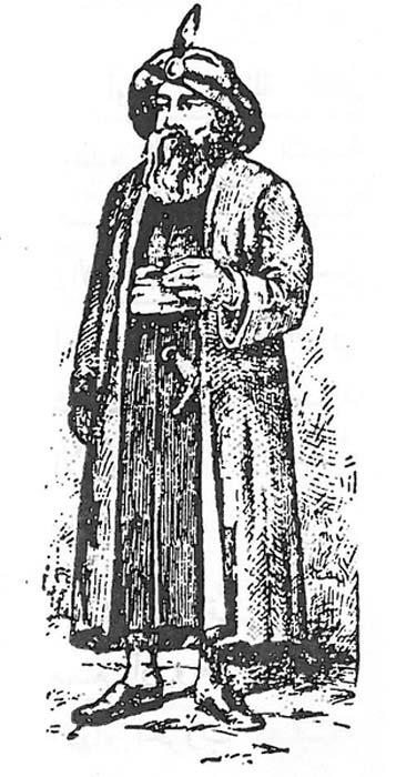 Grabado del sultán Baibars I. (Dominio público)