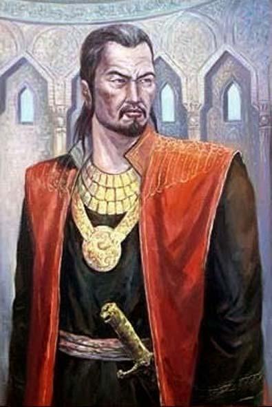 Moderna representación del sultán Baibars. (teutonic)