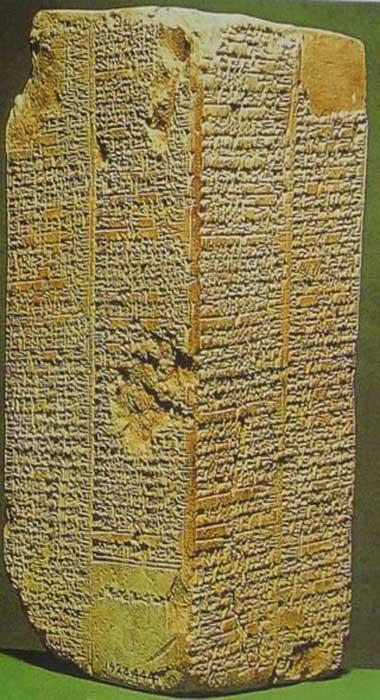 Tablilla piedra Lista Reyes Sumerios La gloria de Gilgamesh: ¿un héroe real o de ficción? #Anunakis