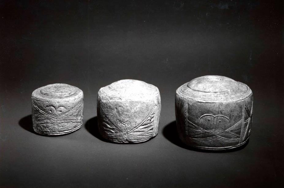 Los Tambores de Folkton. (Administradores del Museo Británico/CC BY NC SA 4.0)