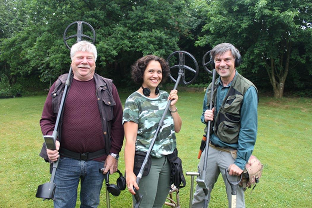 El equipo Team Rainbow Power está formado por Poul Nørgaard Pedersen, Marie Aagaard Larsen y Kristen Dreiøe (Fotografía: Jørn Larsen)