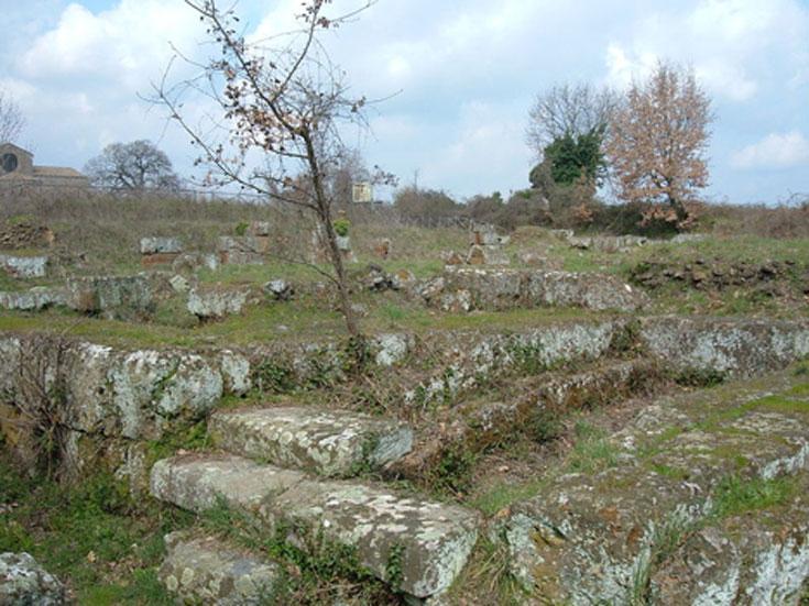 Ruinas del teatro. Falerii Novi, Italia. (CC BY SA 3.0)