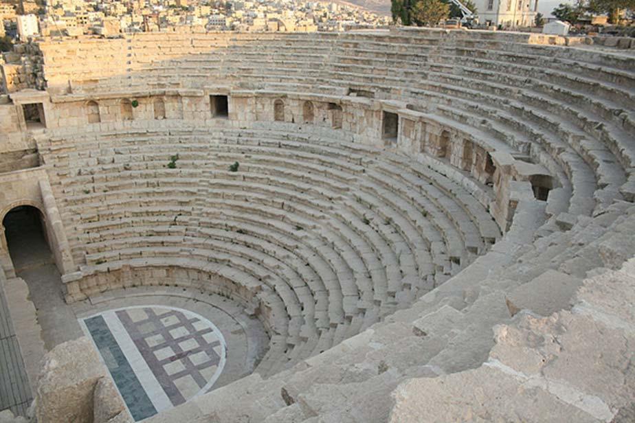 Teatro del Norte, Jerash. (CC BY-SA 3.0)