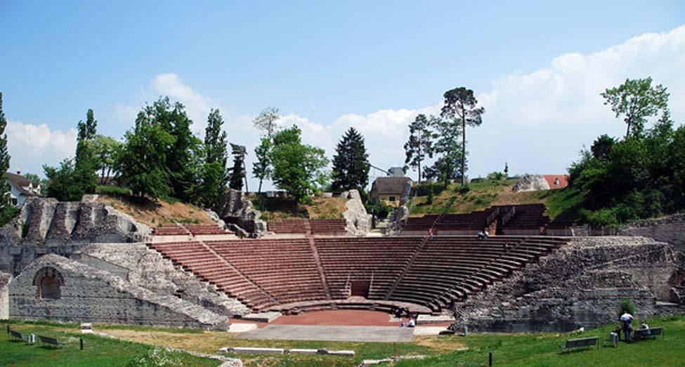 El teatro romano de Augusta Raurica. (CC BY-SA 3.0)