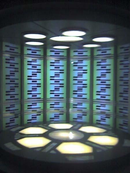 """Un """"teletransportador"""" de la serie de ciencia ficción 'Star Trek'. (Konrad Summers/CC BY SA 2.0)"""