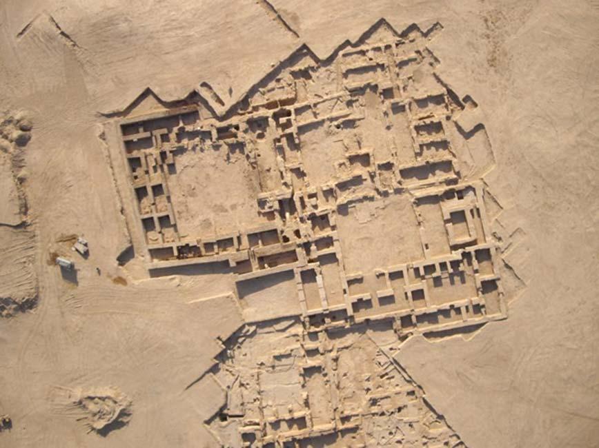 Tell Sheikh Hamad (Siria), el yacimiento arqueológico en el que fue hallada la parte superior de la estela. (Eastern Atlas)