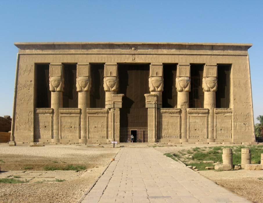 Templo de Hathor, Dendera (Public Domain)