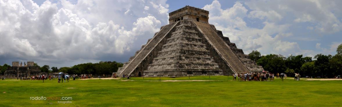 Templo de Kukulkán, Chichén Itzá, México (Rodolfo Araiza G. / Flickr)