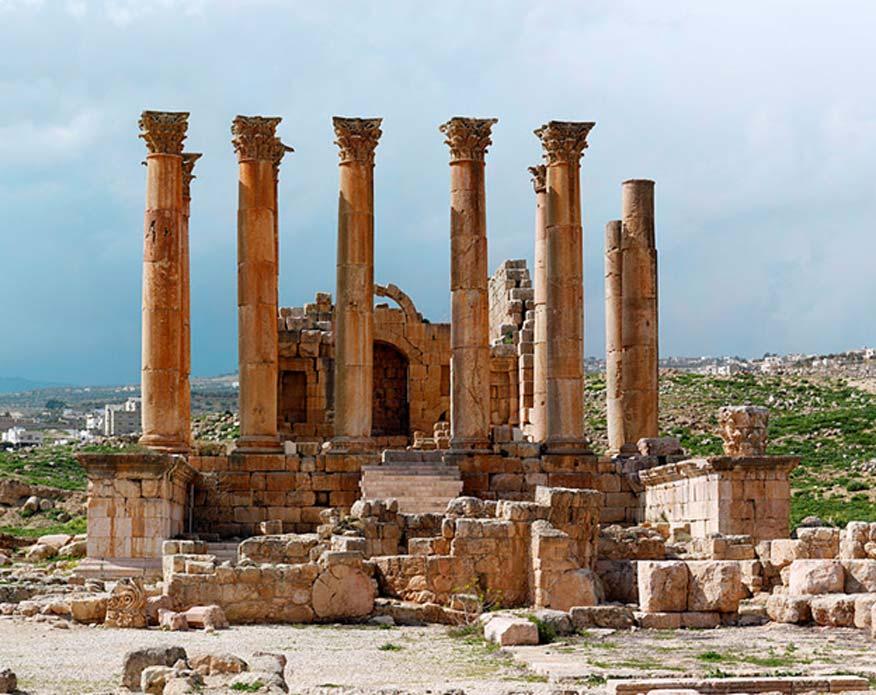 Templo de Artemisa en Jerash, Jordania. (CC BY 3.0)