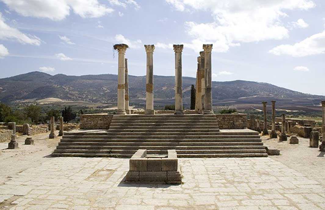 Templo Capitolino de Volubilis. (Prioryman/CC BY SA 3.0)