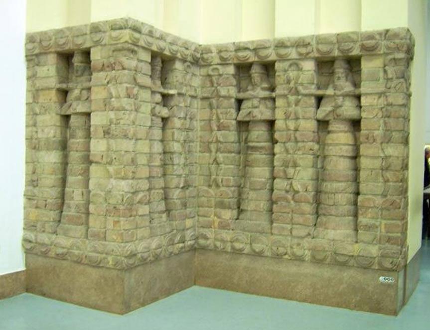 Parte de la fachada del templo de Karaindash construido en honor a Inanna, Uruk. (Marcus Cyron/CC BY SA 3.0)