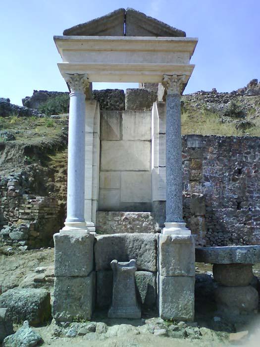 Templo de Mercurio en Munigua (Wikimedia Commons/Fotografía: Aegon2001)