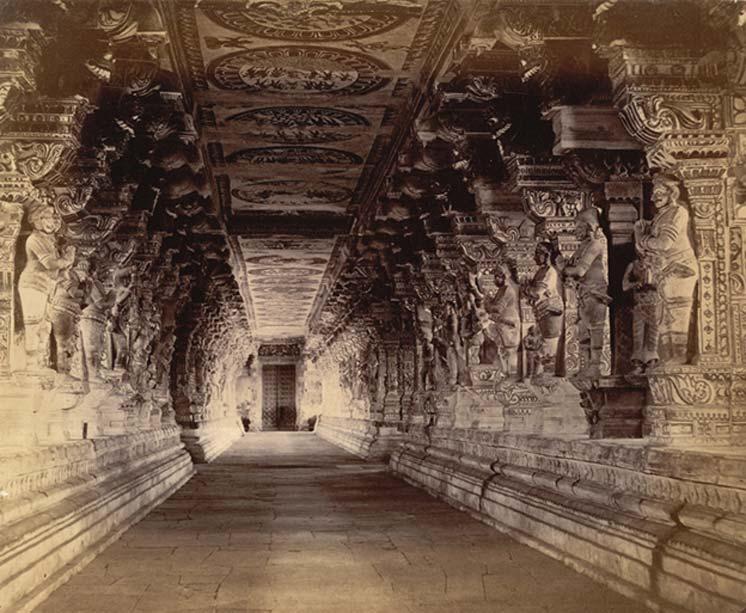 Fotografía del templo tomada por Nicholas and Company en el año 1884. (Dominio público)
