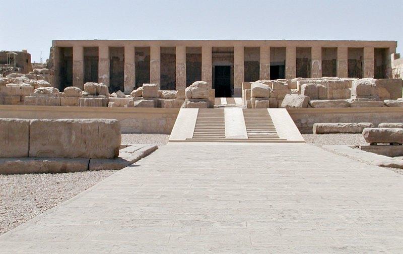 Templo funerario de Seti I en Abidos, Egipto. (Gérard Ducher/CC BY-SA 2.5)