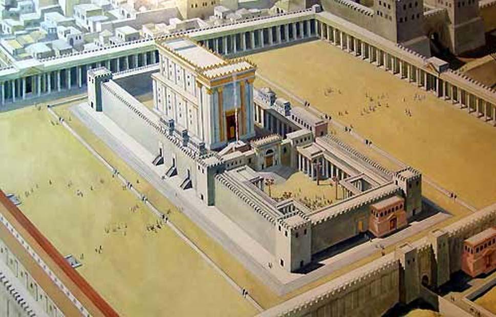 Ilustración del Templo de Salomón en Jerusalén. (CC by SA 4.0)