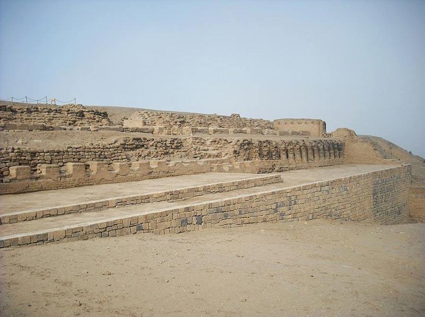 El Templo del Sol de Pachacámac situado en el distrito de Lurín, Lima, Perú. (CC BY 3.0)